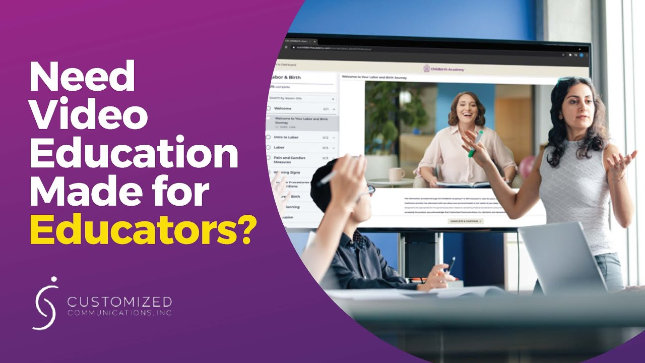 Video Education Made for Educators